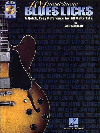 101 must-know Blues Licks (+CD): for guitar