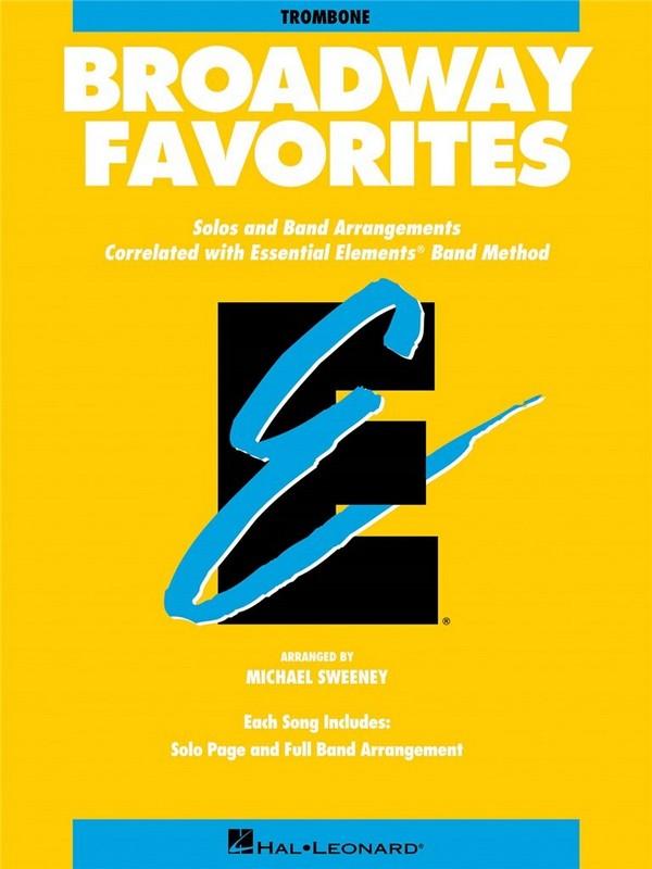 Broadway Favorites: for trombone