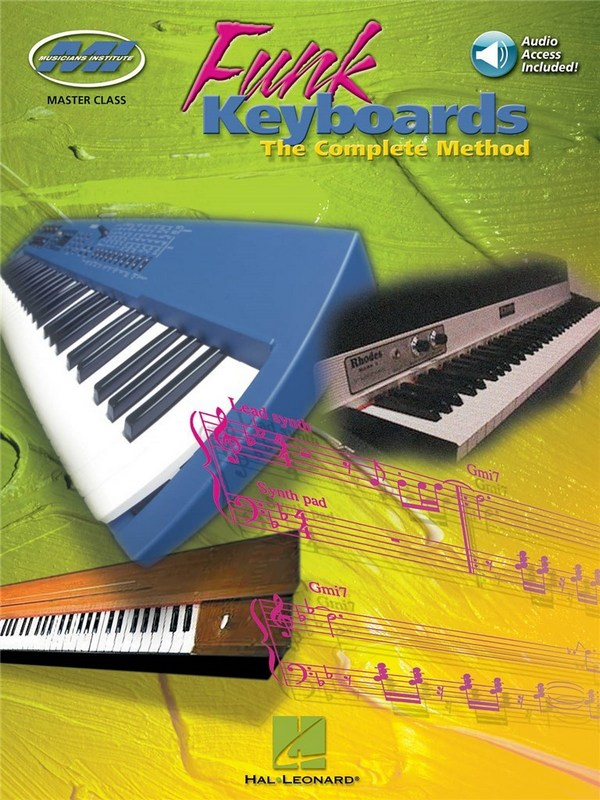 - Funk Keyboards (+Online Audio Access)