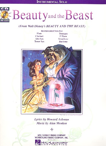 Beauty and the Beast (+CD): for c, b flat, e flat or bass clef instrument