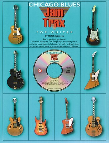 Chicago Blues Jam Trax (+Cd): for guitar