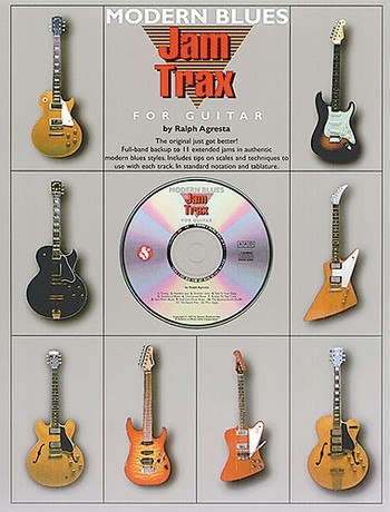 Modern blues jam trax (+CD): for guitar