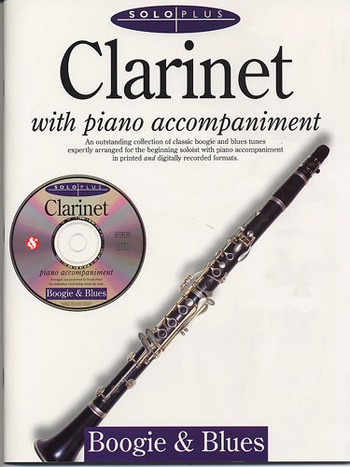 SOLO PLUS (+CD): BOOGIE AND BLUES FOR CLARINET AND PIANO