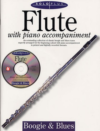 SOLO PLUS (+CD): BOOGIE AND BLUES FOR FLUTE AND PIANO