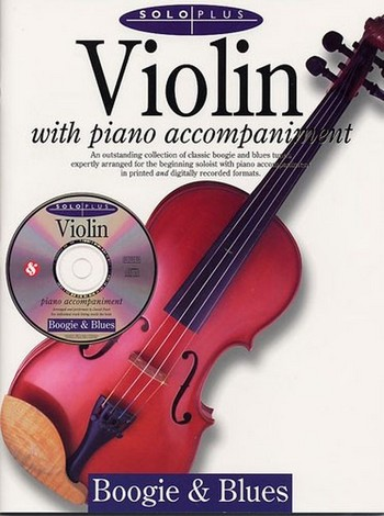 SOLO PLUS (+CD): BOOGIE AND BLUES FOR VIOLIN AND PIANO