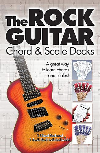 The Rock Guitar Chord and Scale Deck Pack