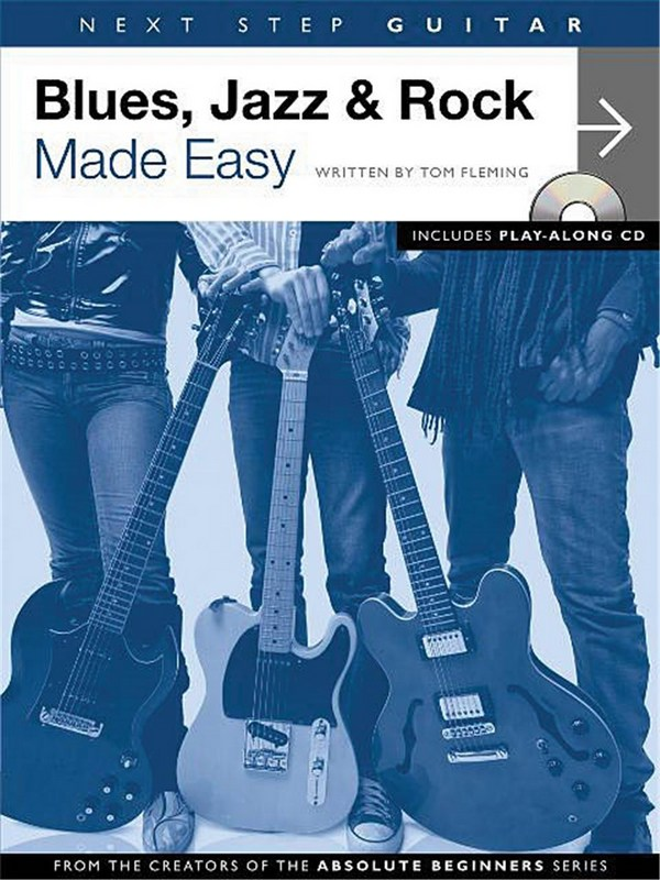 Blues Jazz & Rock made easy (+CD): for guitar/tab