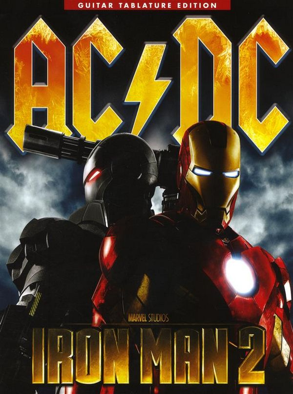 AC/DC: Iron Man 2 songbook vocal/guitar/tab