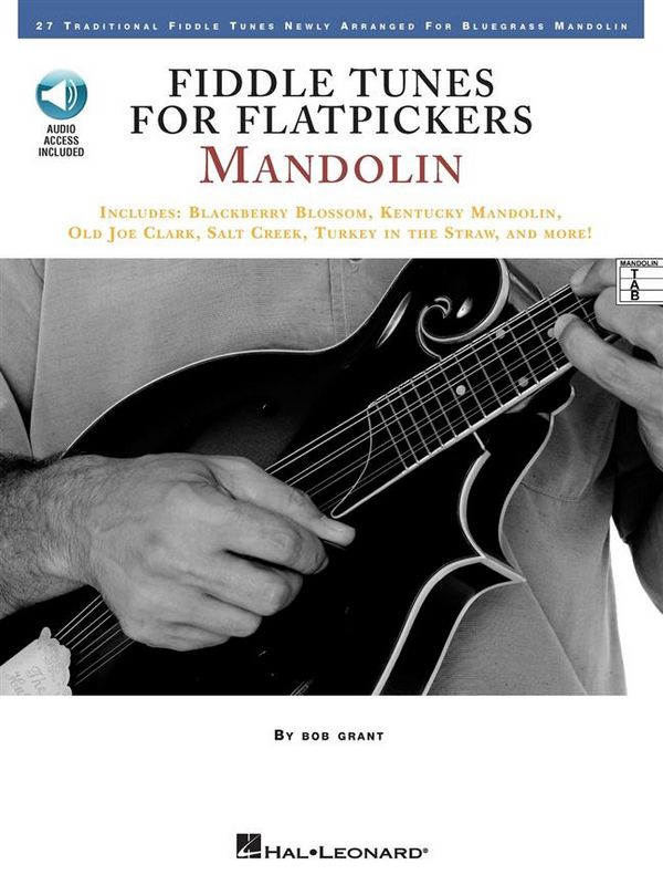 Fiddle Tunes for Flatpickers (+CD): for mandolin (with tablature)