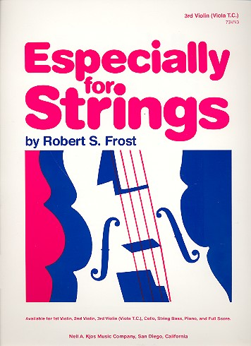 Especially for Strings: for strings and piano