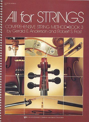 All for Strings vol.3: score and manual