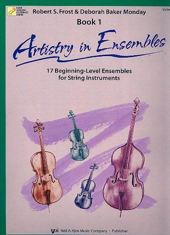 Artistry in Ensembles vol.1: for string ensemble viola