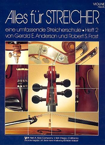 Alles für Streicher Band 2: für Streichorchester Violine