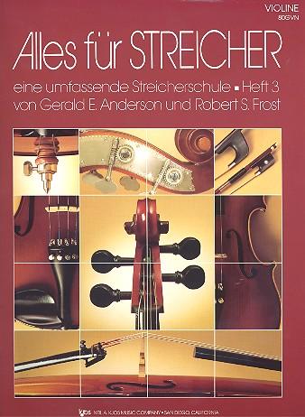 Alles für Streicher Band 3: für Streichorchester Violine