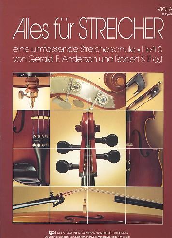 Alles für Streicher Band 3: für Streichorchester Viola