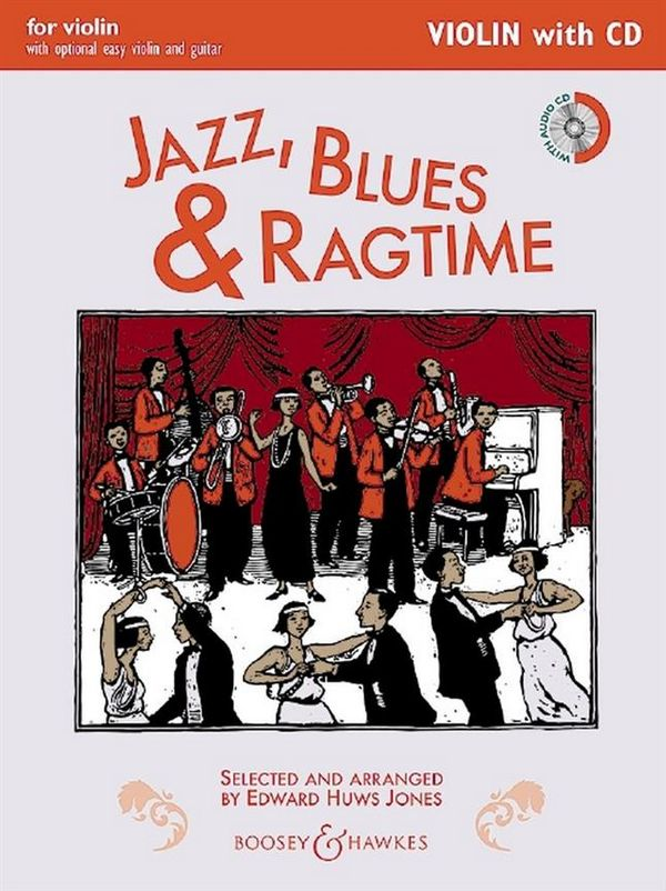 Jazz, Blues and Ragtime (+CD): (easy violin and guitar ad lib)