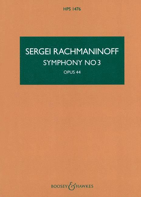 Sinfonie a-Moll Nr.3 OP:44: für Orchester Studienpartitur