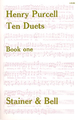 Purcell, Henry - 10 Duets vol.1 (nos.1-6) : for