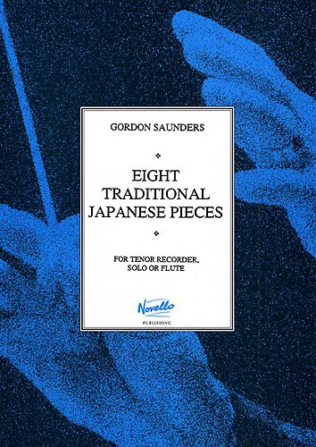 8 Traditional Japanese Pieces: for tenor (descant) recorder solo or flute