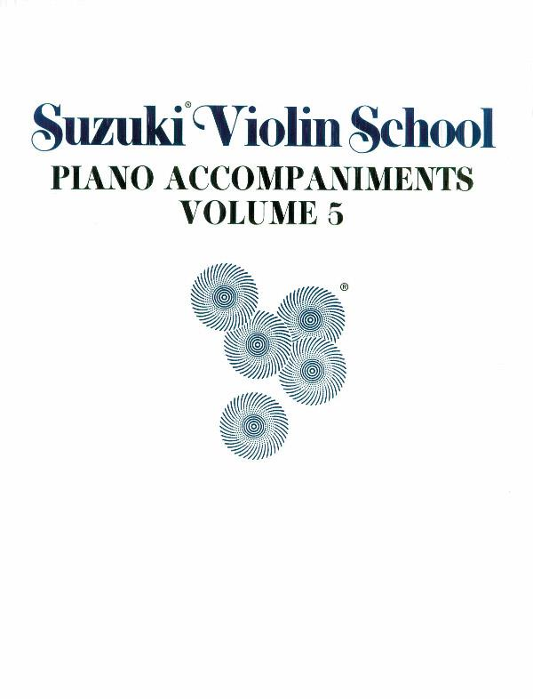 Suzuki Violin School vol.5: