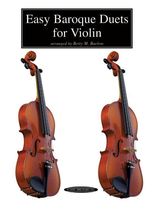 - Easy baroque duets : for 2 violins