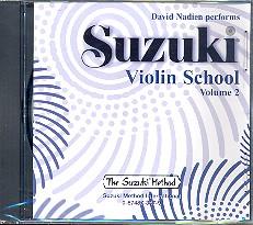 Suzuki Violin School vol.2: CD