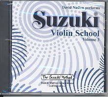 Suzuki Violin School vol.3: CD