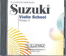 Suzuki Violin School vol.4: CD