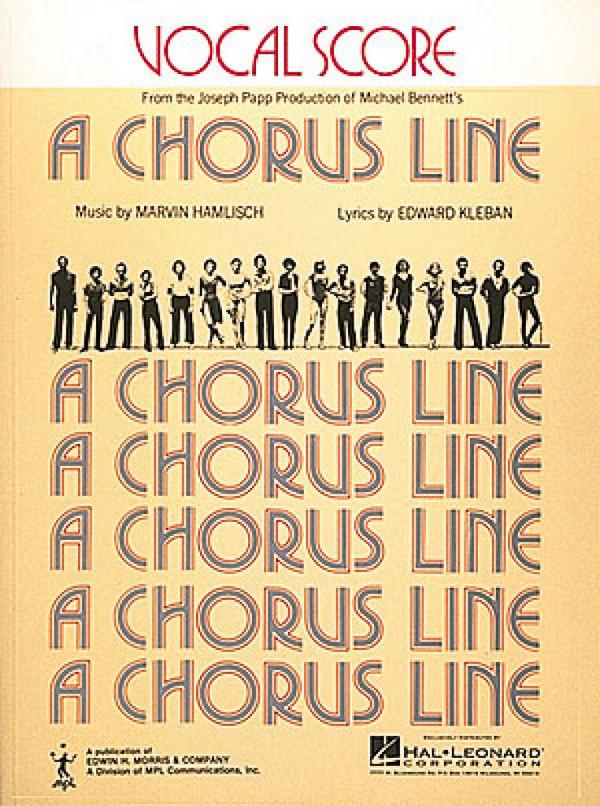 A Chorus Line: musical vocal score ( en )