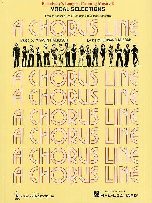A Chorus Line: vocal selections