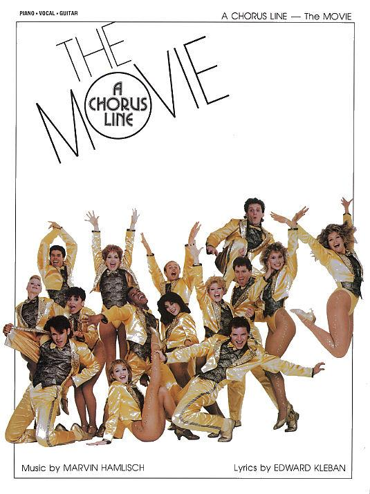 A Chorus Line: The Movie piano/vocal/guitar
