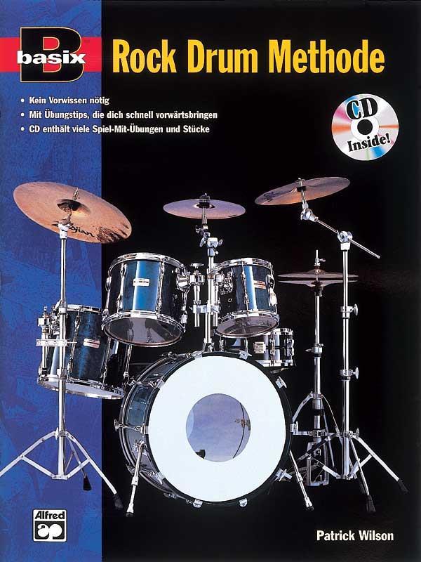 BASIX ROCK DRUM METHODE (+CD) (DT)