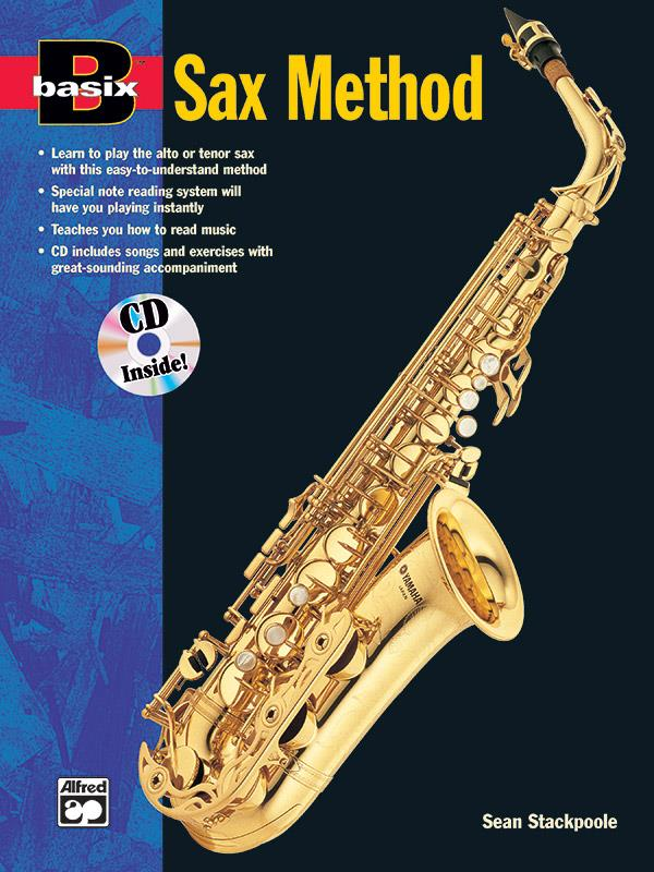 BASIX SAX METHOD: BOOK FOR SAXOPHONE WITH CD