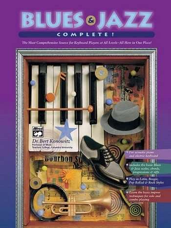 Blues and jazz complete (+2 CDs): for keyboard players at all levels