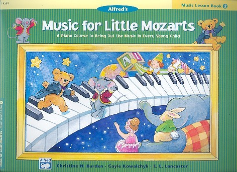 Barden, Christine H. - Music for little Mozarts - Music Lesson Book