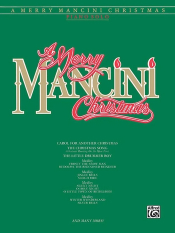 A merry Mancini Christmas: for piano (vocal/guitar)