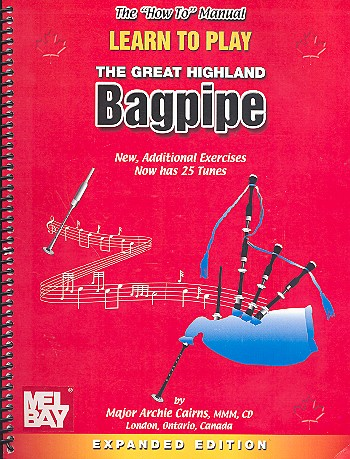Learn to play the great Highland Bagpipe (+CD): für Dudelsack