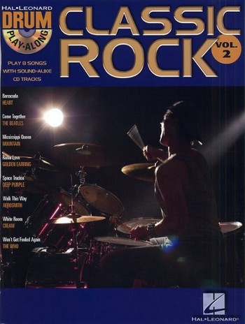 Classic Rock (+Audio Access): drum playalong vol.2