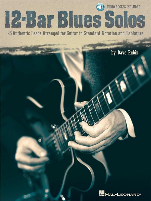 12-Bar Blues Solos (+CD): for guitar/tab
