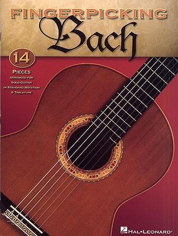 Bach, Johann Sebastian - Fingerpicking Bach : for guitar
