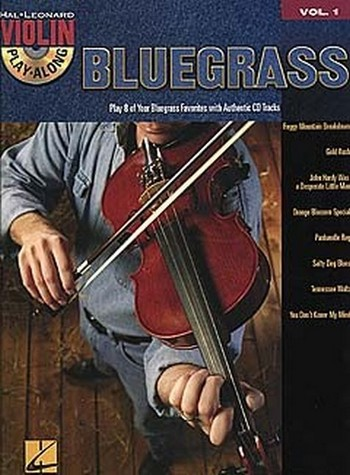 Bluegrass (+Audio Access): for violin