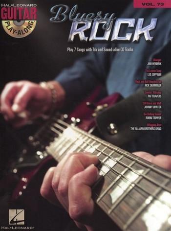 Bluesy Rock (+CD): guitar playalong vol.73 songbook vocal/guitar/tab