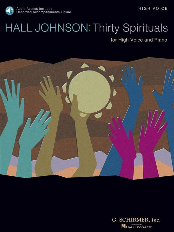30 Spirituals (+CD): for high voice and piano
