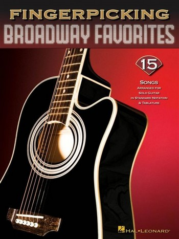 Fingerpicking Broadway Favorites: for guitar/tab