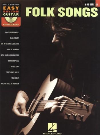 Folk Songs (+CD): for easy rhythm guitar