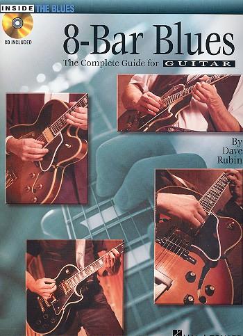 8-Bar Blues (+CD): for guitar/tab