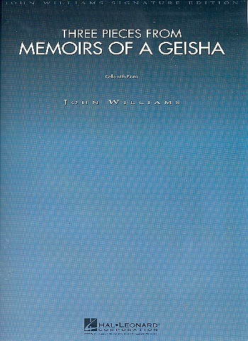 3 Pieces from Memoirs of a Geisha: for cello and piano