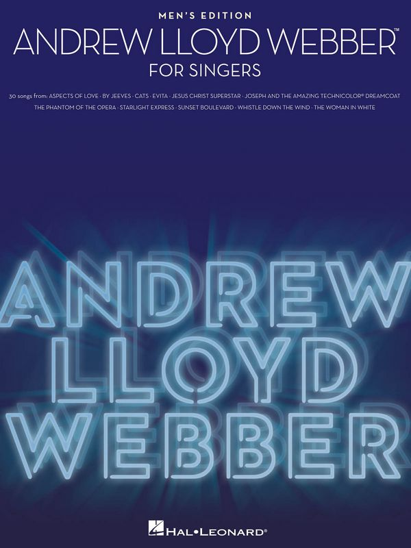Andrew Lloyd Webber for Singers - Men\