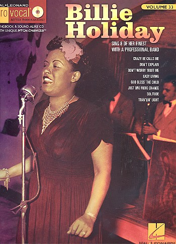 Billie Holiday (+CD): Songbook vocal/guitar