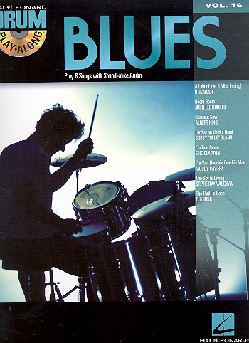 Blues (+CD): Drum Playalong vol.16